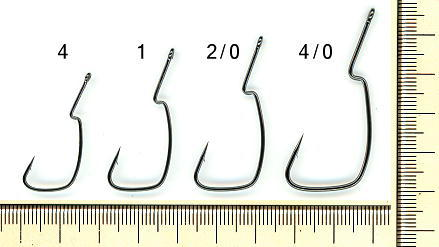 No.3901 Worm Hook 901